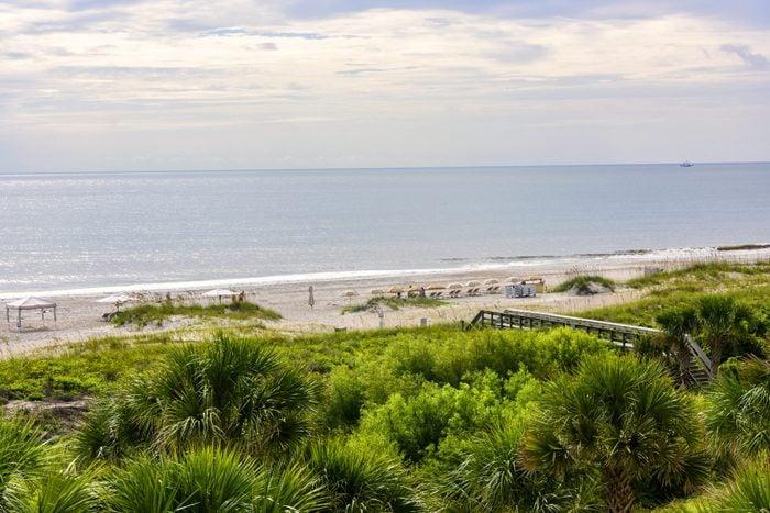 Beach on Amelia Island in Northern Florida