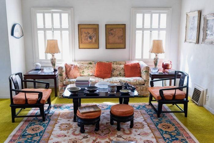 Living room home interior