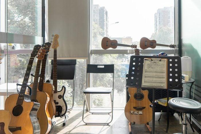 Music studio at home