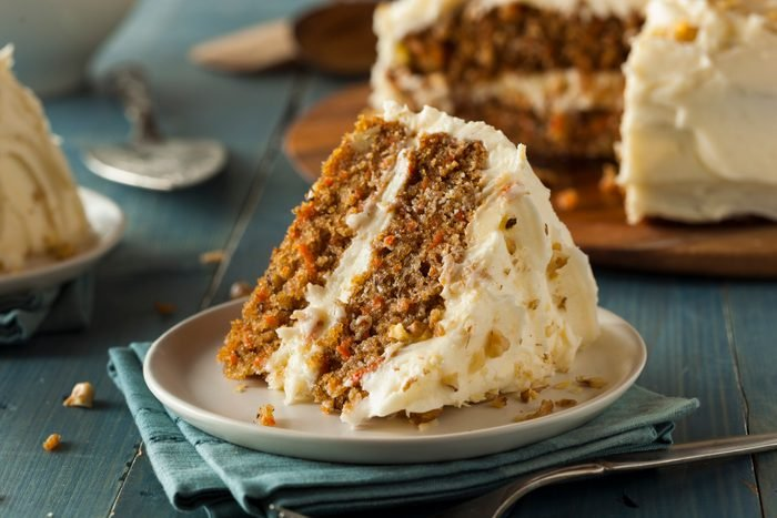 Healthy Homemade Carrot Cake