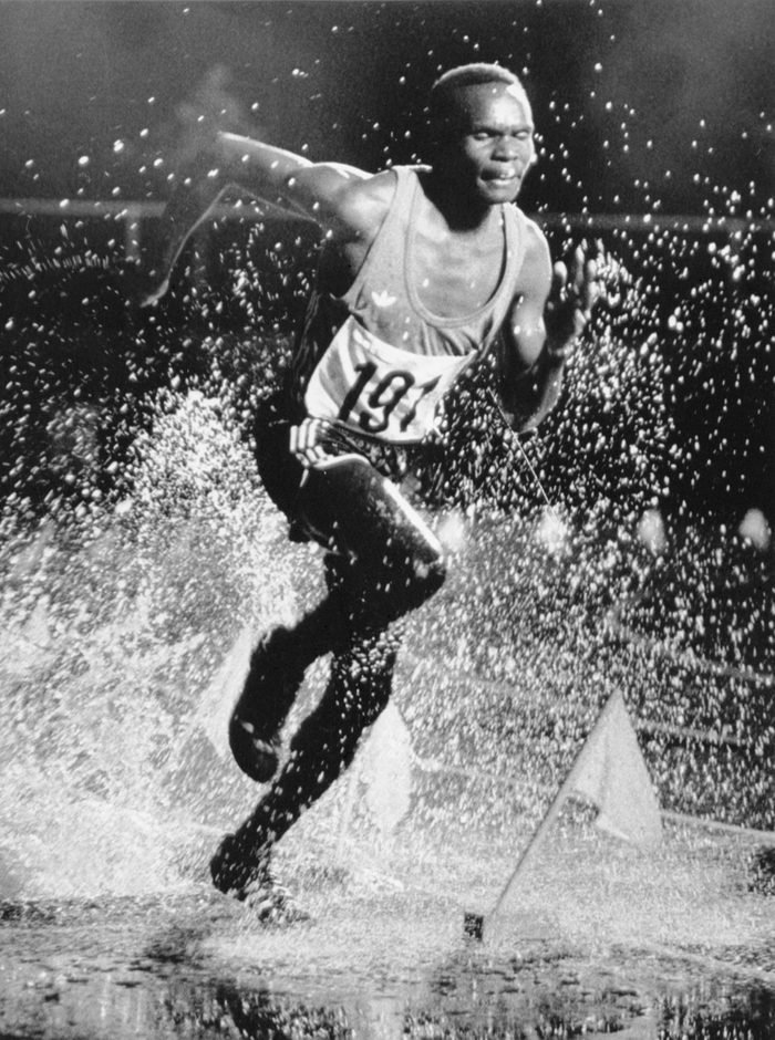 Steeplechaser Running at Montreal Games