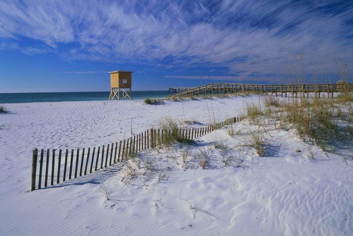 White Sands of Santa Rosa Beach, Florida