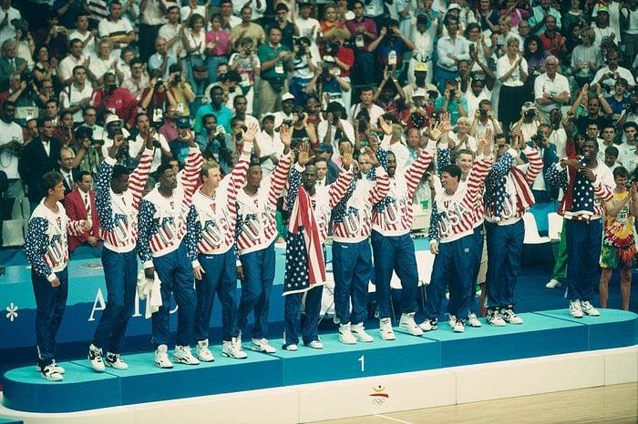 Basketball - Dream Team Players