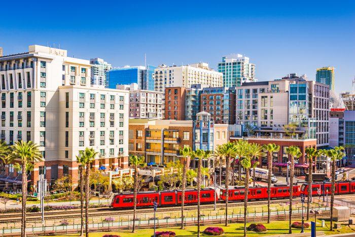 San Diego, California cityscap