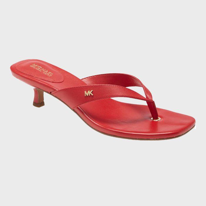 Michael Kors Angela Kitten Heel Flip Flops