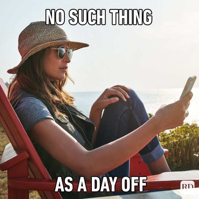 No Such Thing As A Day Off