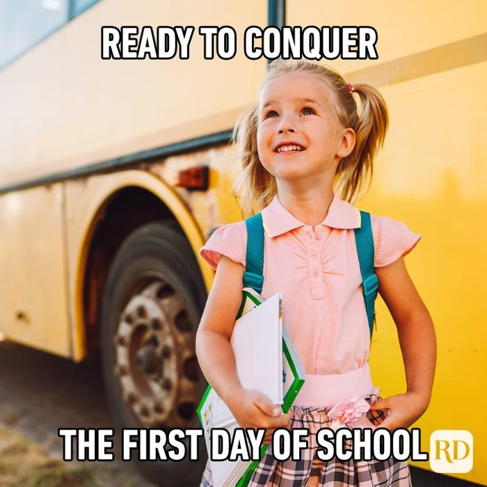 Ready To Conquer The First Day Of School