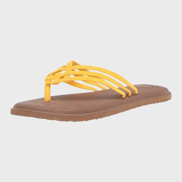 Sanuk Yoga Salty Flip Flops