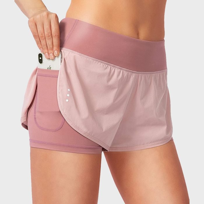 Soothfeel 2 In 1 Running Shorts