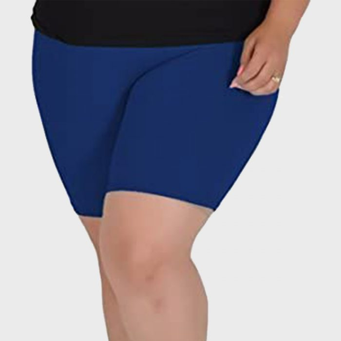 Stretch Is Comfort Cotton Plus Size Bike Shorts
