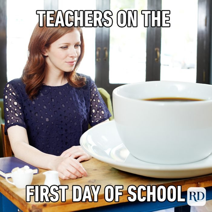 Teachers On The First Day Of School