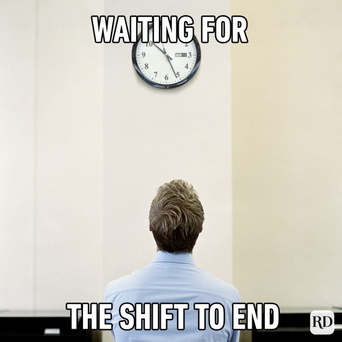 Waiting For The Shift To End