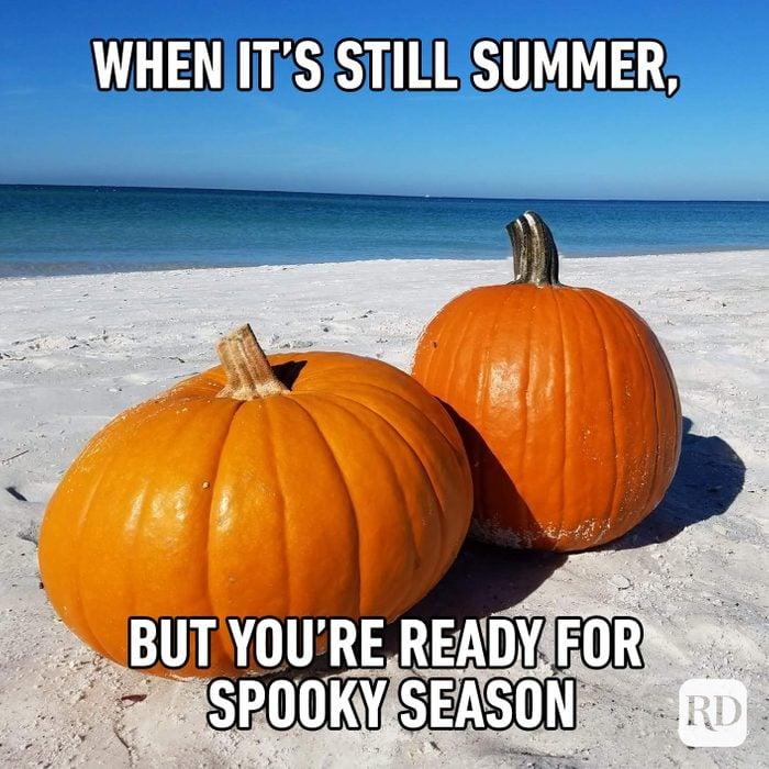 When It's Still Summer, But You're Ready For Spooky Season