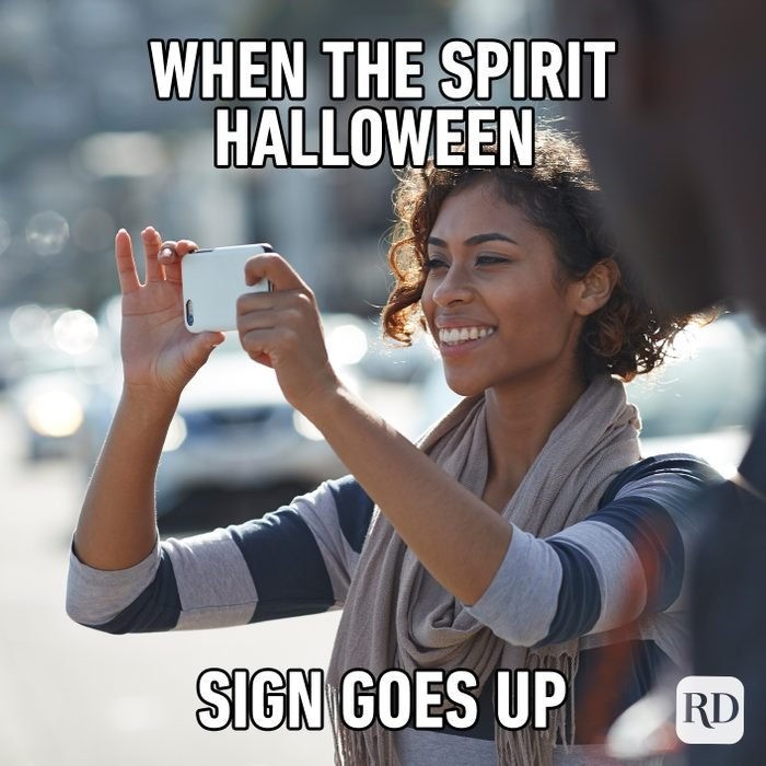 When The Spirit Halloween Sign Goes Up