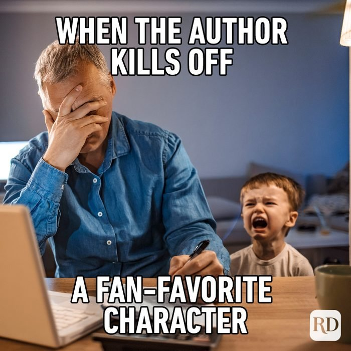 When The Author Kills Off A Fan Favorite Character