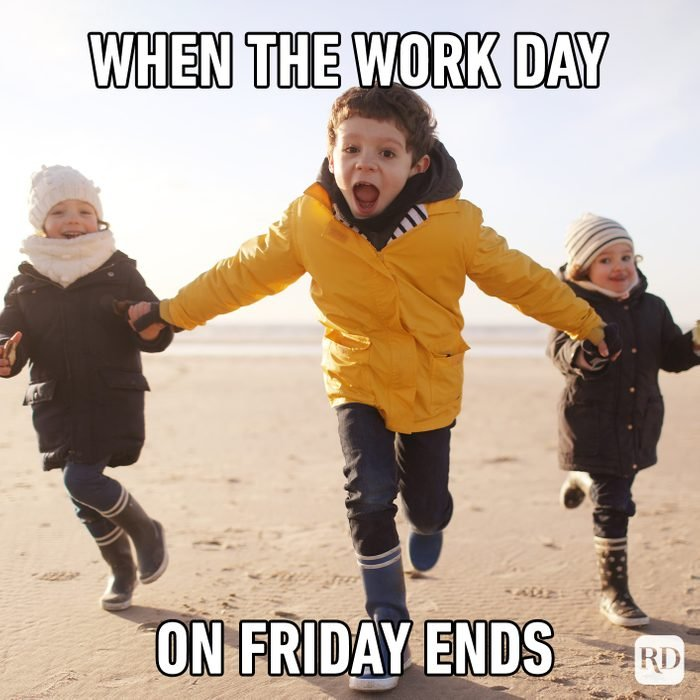 When The Work Day On Friday Ends
