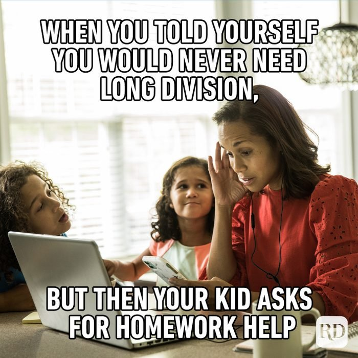 When You Told Yourself, You Would Never Need Long Division, But Then Your Kid Asks For Homework Help