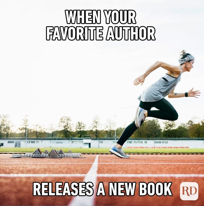 When Your Favorite Author Releases A New Book