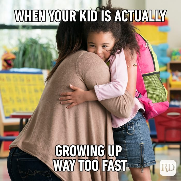 When Your Kid Is Actually Growing Up Way Too Fast