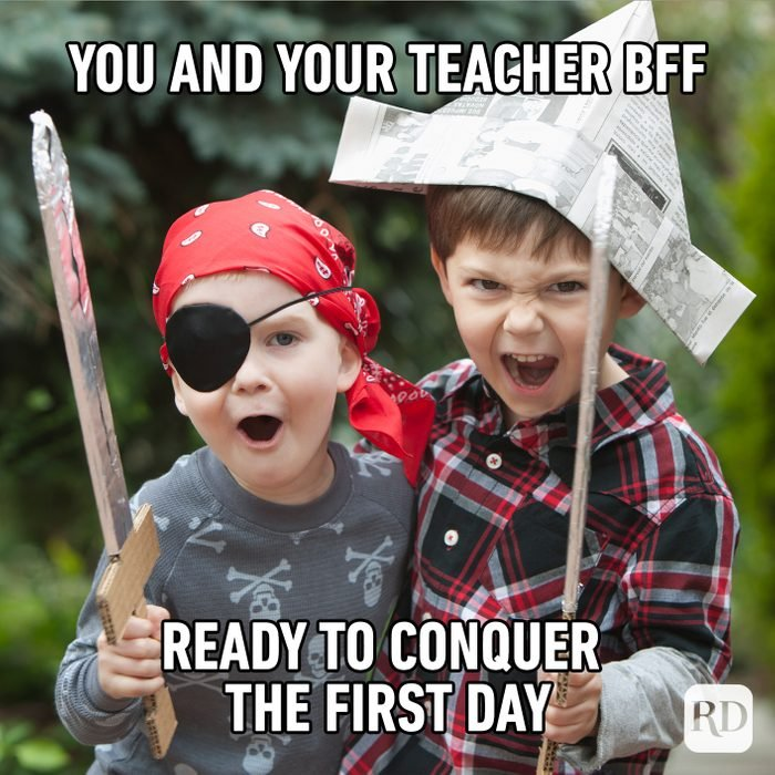 You And Your Teacher Bff Ready To Conquer The First Day