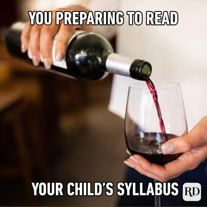 You Preparing To Read Your Child's Syllabus