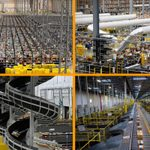 Here's What It Looks Like Inside an Amazon Warehouse