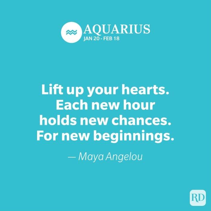 Aquarius quote