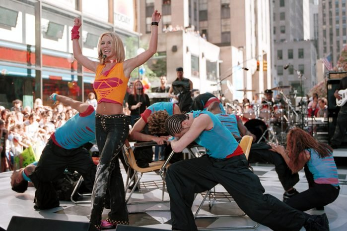 """Britney Spears Performs on """"The Today Show"""" - June 23, 2000"""