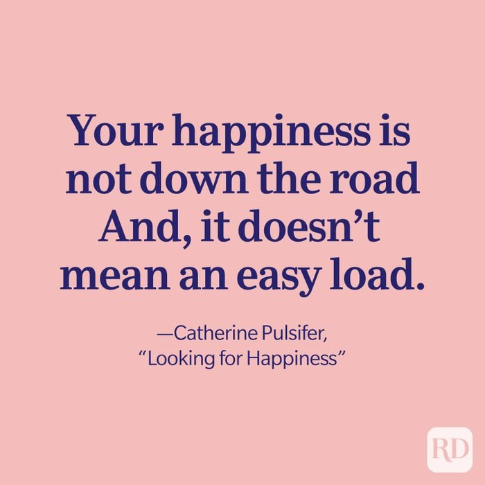 Catherine Pulsifer Quote, Looking For Happiness
