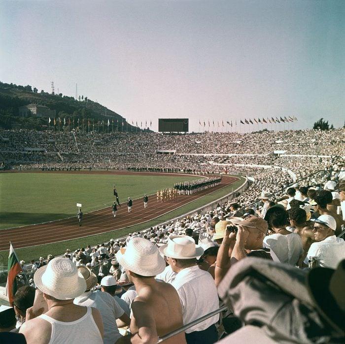 Cérémonie d'ouverture des Jeux Olympiques de Rome
