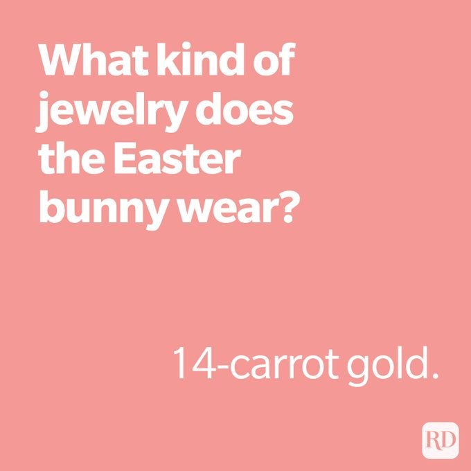 What kind of jewelry does the easter bunny wear?