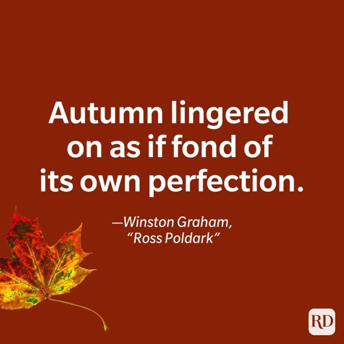 Winston Graham, Ross Poldark quote