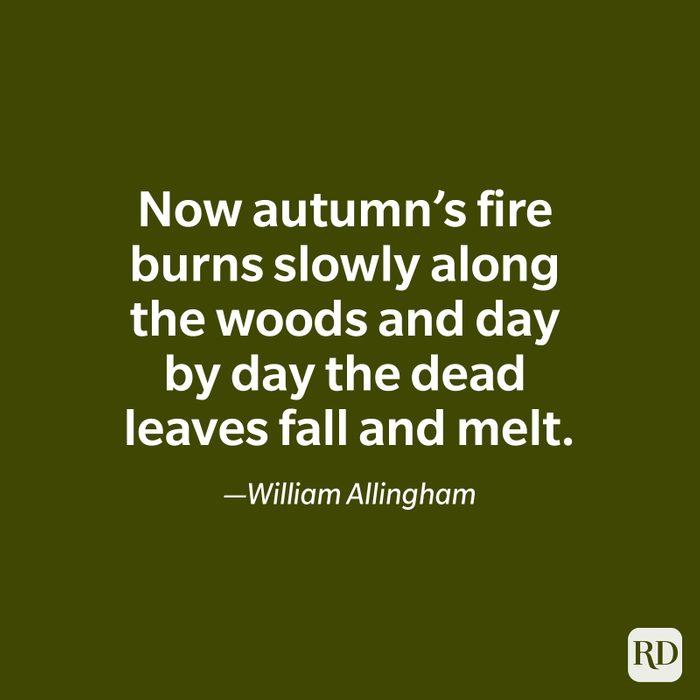 William Allingham quote