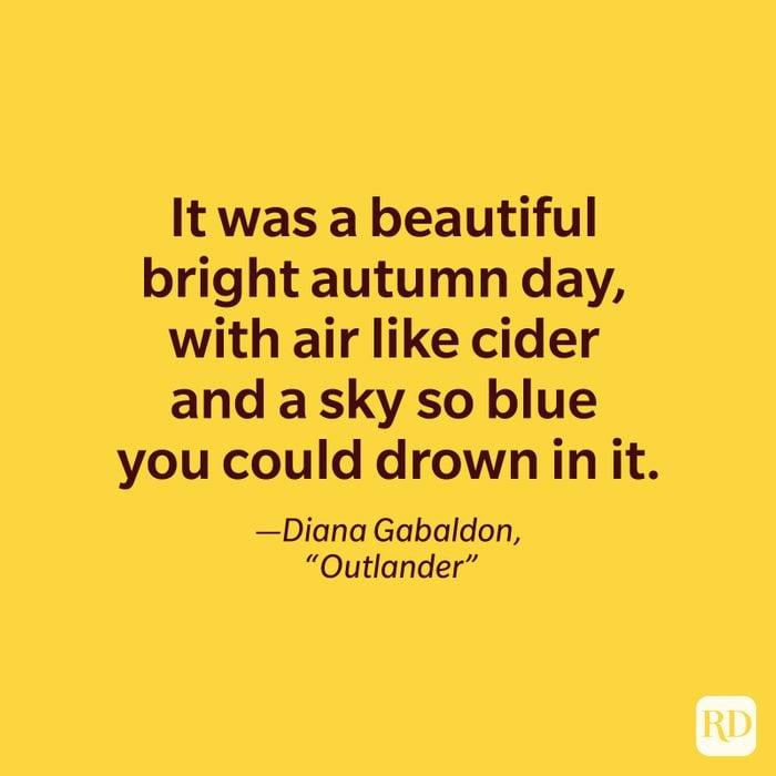 Diana Gabaldon, Outlander quote