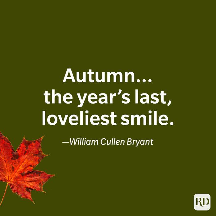 William Cullen Bryant quote