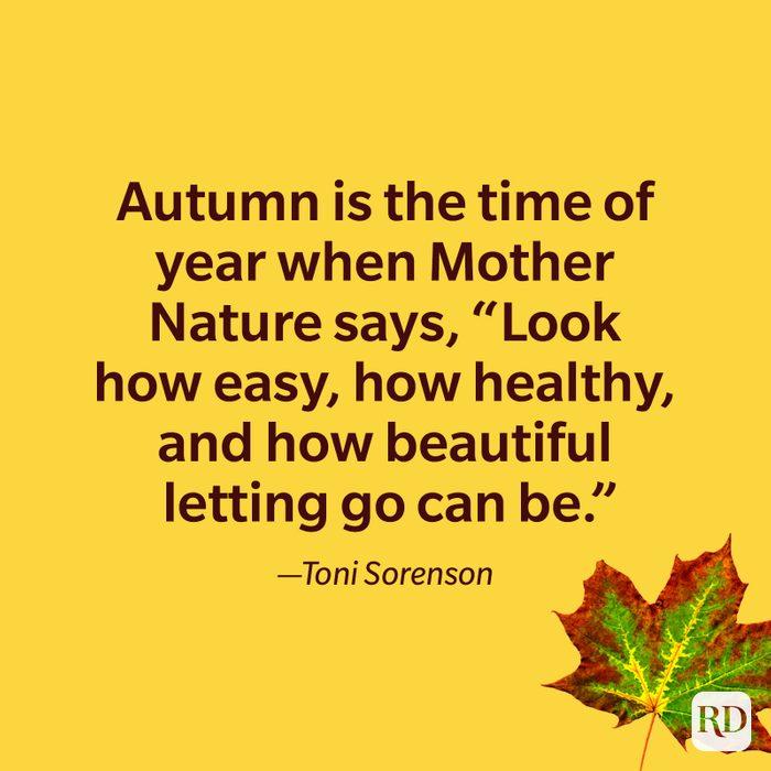 Toni Sorenson quote