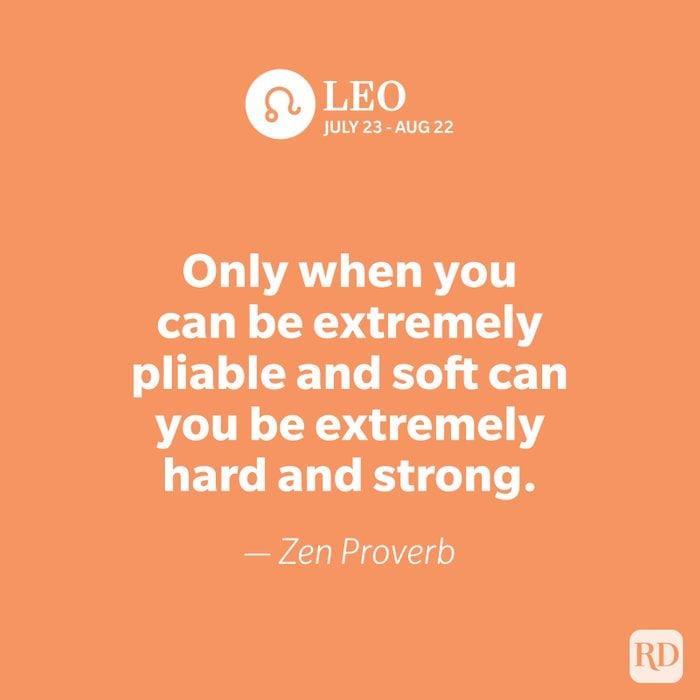 Leo quote