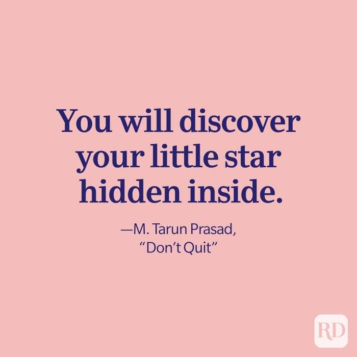 M Tarun Prasad Quote