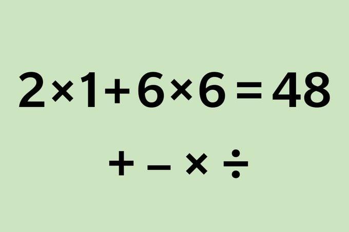 2x1+6x6=48