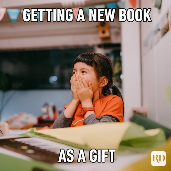 Getting A New Book As A Gift
