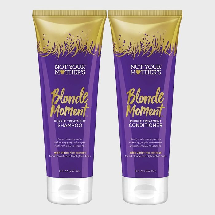 Not Your Mother's Blonde Moment Purple Shampoo and Conditioner Duo