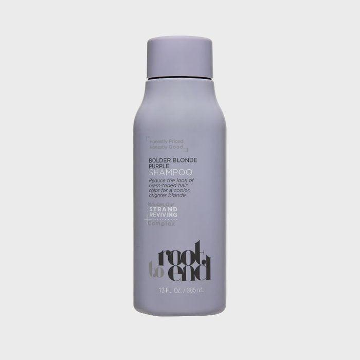 Root to End Bolder Blonde Purple Shampoo
