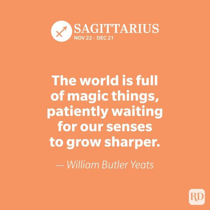 Sagittarius quote