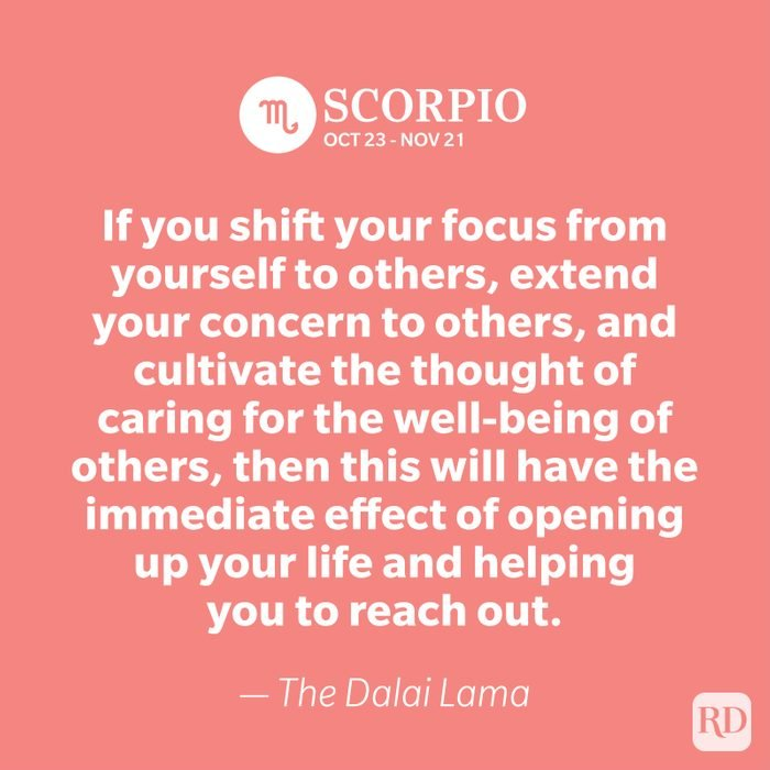 Scorpio quote