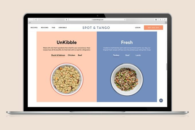 Spot And Tango Webpage