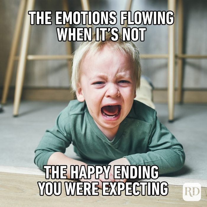 The Emotions Flowing When It's Not The Happy Ending You Were Expecting