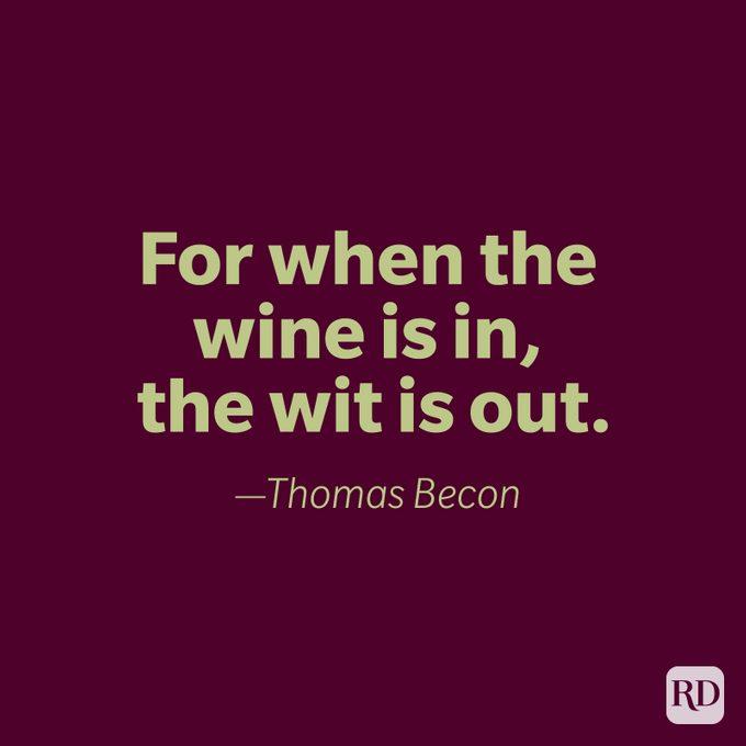 Thomas Becon Quote