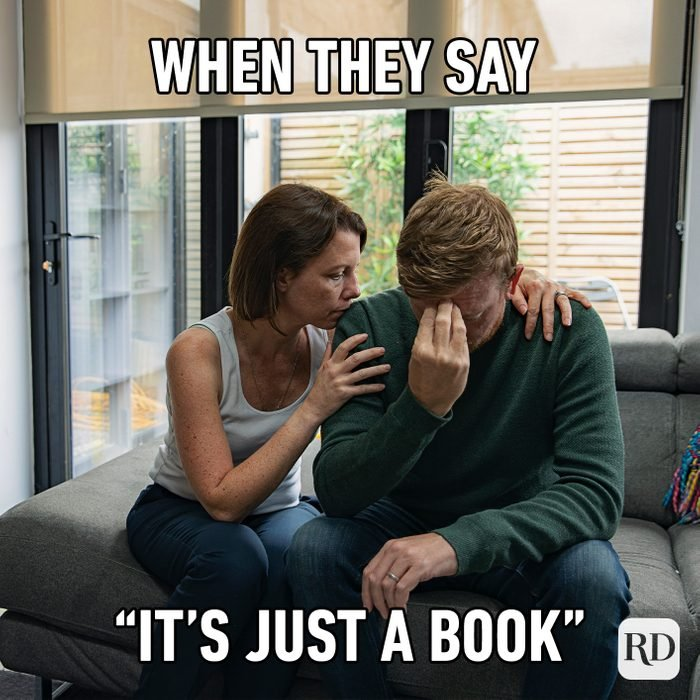 When They Say It's Just A Book