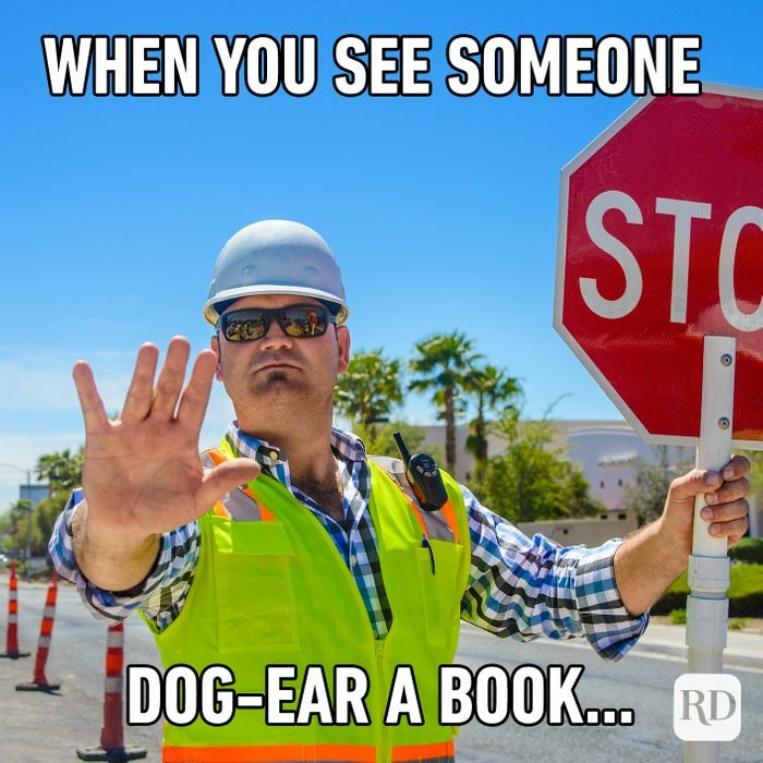 When You See Someone Dog Ear A Book...