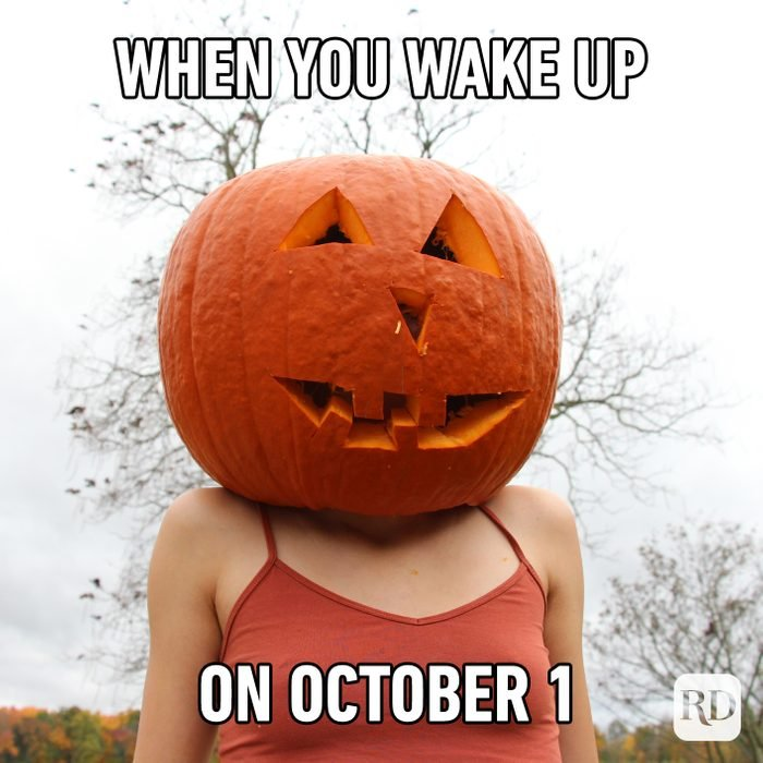 When You Wake Up On October 1
